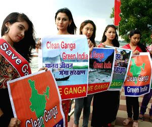 'Save Ganga Green India'