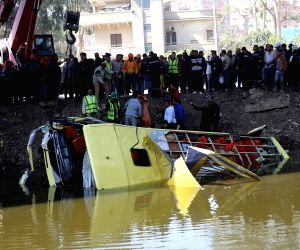 EGYPT GIZA BUS ACCIDENT