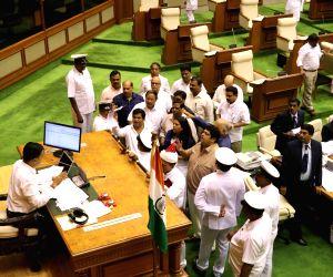 Goa Opposition forces adjournment,criticises Speaker