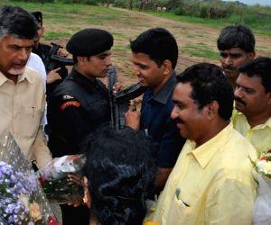 Andhra Pradesh CM visits West Godavari District