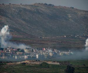 MIDEAST ISRAEL LEBANON BORDER CONFLICT
