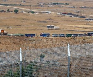 MIDEAST GOLAN HEIGHTS SYRIA REBEL EVACUATION