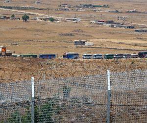 MIDEAST GOLAN HEIGHTS SYRIA REBEL EVACUATION