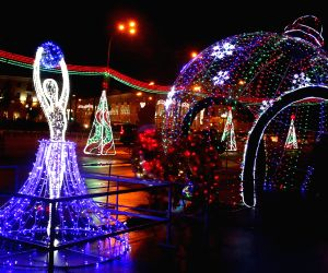 BELARUS-GOMEL-NEW YEAR LIGHTS