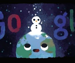 Google Doodle celebrates shortest day of the year