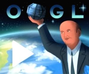 Google honours India's 'Satellite Man' Rao with a Doodle
