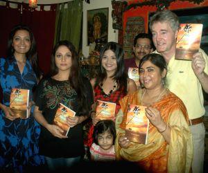 Gracy Singh and Sheena Chohan at Dr Manish Maladkar's book launch at MHADA.
