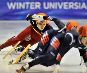 (SP)SPAIN-GRANADA-WORLD WINTER UNIVERSIADE-SHORT TRACK
