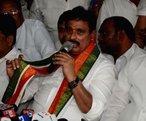 Danam Nagender denied joining TRS