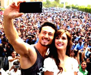 """Greater Noida: """"Baaghi 2"""" - promotional programme"""