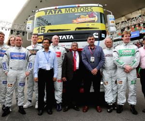 Greater Noida: T1 PRIMA truck racing championship 2015 - inauguration