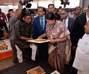 Greater Noida: Smriti Irani inaugurates Home Expo 2018