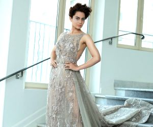Grey Goose - Kangna Ranaut for the red carpet at Cannes.