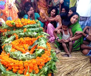 Funeral of Sukma martyr Ranjeet Kumar