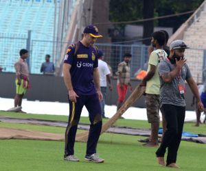 Rain postponed Kolkata Knight Riders practice session