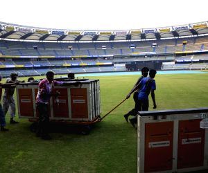 Wankhede Stadium - preparation