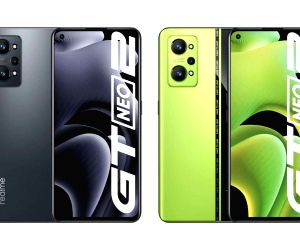 realme GT Neo 2 with Snap