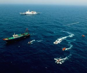 CHINA-VIETNAM-JOINT FISHERY INSPECTION-BEIBU GULF