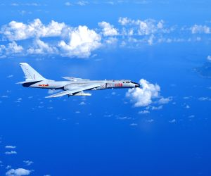 Taiwan fighter jets monitor Chinese bombers