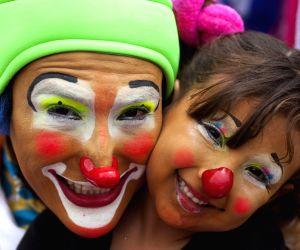 Guatemala City: Sixth Latin American Congress of Clowns parade