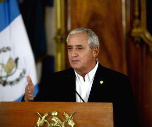 GUATEMALA VICE PRESIDENT RESIGNATION