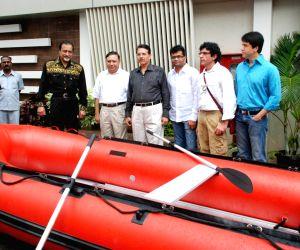 Jimmy Shergill at Disaster management Rakshak event.