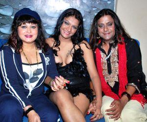 Guests at the bash of Poonam Dasgupta's gay play