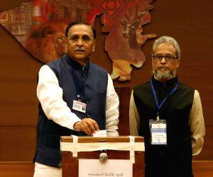 Rajya Sabha election - Amit Shah, Vijay Rupani