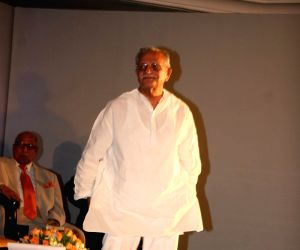 Gulzar at Resul Pookutty's autobiography launch at The Leela.