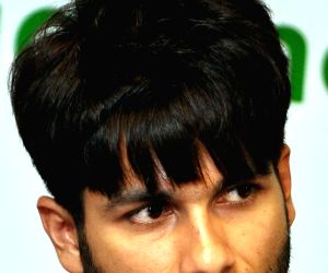 Shahid Kapoor during a programme