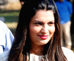 Sayali Bhagat during a programme