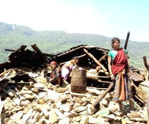 Gurkha (Nepal): Earthquake hit Nepal