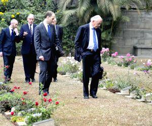 British delegation visits The Guwahati War Cemetery