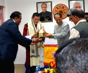 Gogoi felicitates King of Bhutan