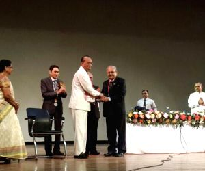 Lifetime achievement award to Dr. G. C. Jain
