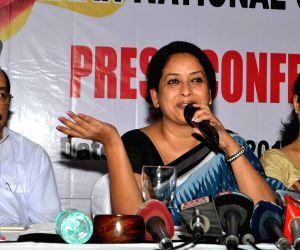 Sharmistha Mukherjee's press conference