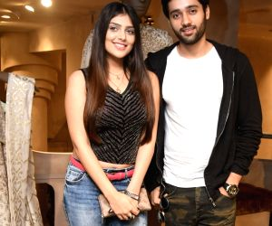 Celebs at the launch of designer store