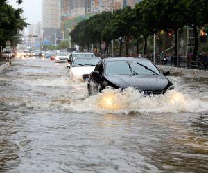 CHINA HAINAN HEAVY RAIN