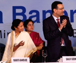 WB CM and Sanjiv Goenka during inauguration of a 600 MW Haldia Thermal Power Plant
