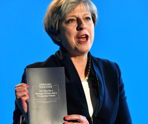 BRITAIN HALIFAX PM CONSERVATIVE MANIFESTO
