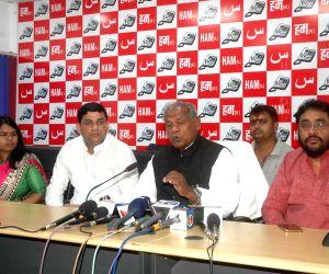Manjhi's press conference