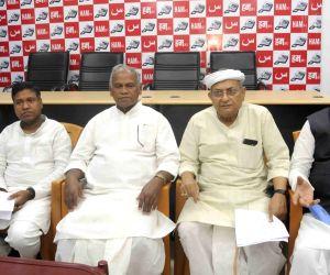 Jitan Ram Manjhi during HAM meeting
