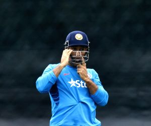 Hamilton (New Zealand): ICC World Cup - 2015 - Practice Session (India)