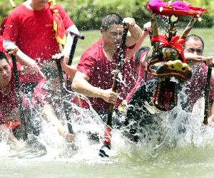 CHINA-DRAGON BOAT FESTIVAL