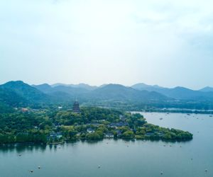 CHINA HANGZHOU WEST LAKE SCENERY
