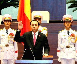 VIETNAM HANOI RE ELECTED PRESIDENT