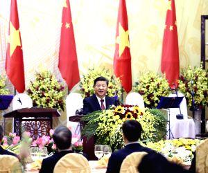 VIETNAM-HANOI-CHINA-XI JINPING-BANQUET