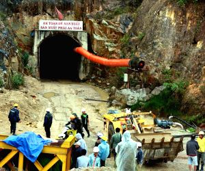 VIETNAM-LAM DONG-TUNNEL COLLAPSE