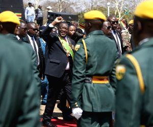 ZIMBABWE-HARARE-HEROES DAY-COMMEMORATION-MNANGAGWA