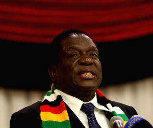Zimbabwe president survives bomb attack at election rally